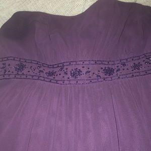 Floor Length Formal Gown.